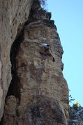 Rock Climbing Photo: Long reaches to sick holds!