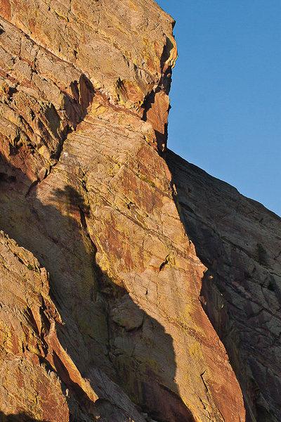 Rock Climbing Photo: The Naked Edge.