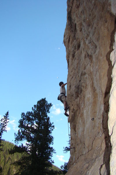Rock Climbing Photo: Spearfish Canyon Limestone!