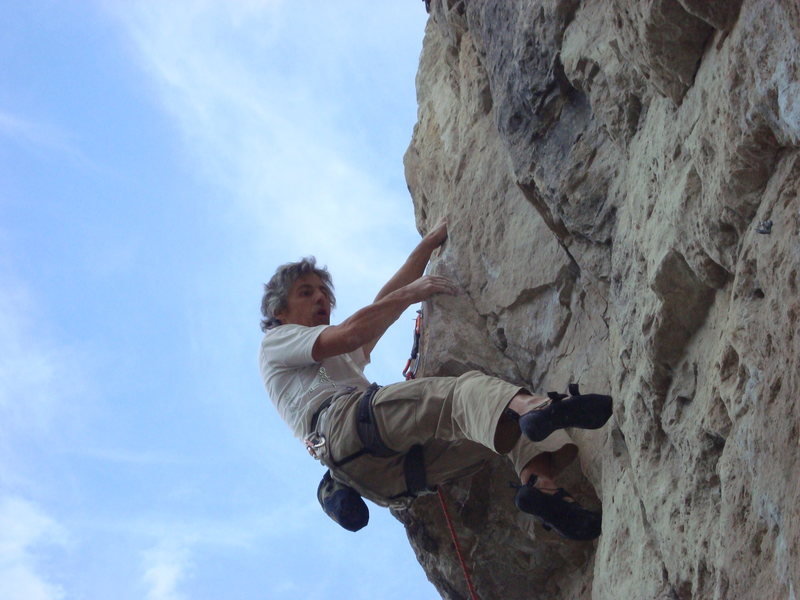 Rock Climbing Photo: Enjoying some of The Secret Stash, Spearfish Canyo...
