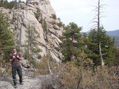 Rock Climbing Photo: Estes Park