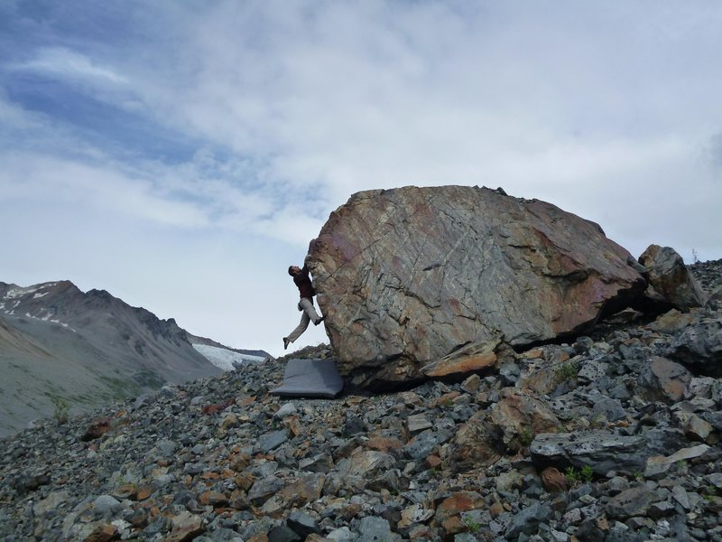 Rock Climbing Photo: From this photo you can see the three slab problem...