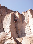 Rock Climbing Photo: Anyone know the name of this one?  Kait Boyle crus...