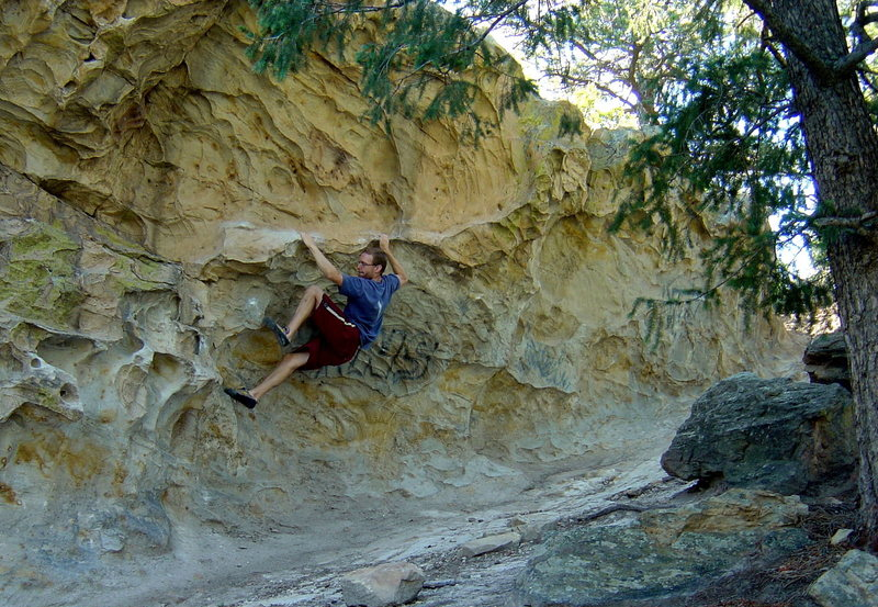 """Rock Climbing Photo: I think this was """"The Rail"""".  Maybe 2005..."""