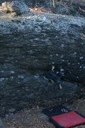 Rock Climbing Photo: Al climbing Hammond Eggs.