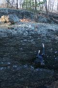 Rock Climbing Photo: Al in the Alcove.