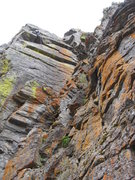 Rock Climbing Photo: this route has it all