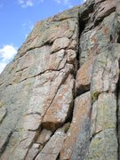Rock Climbing Photo: Trouble Every Day.