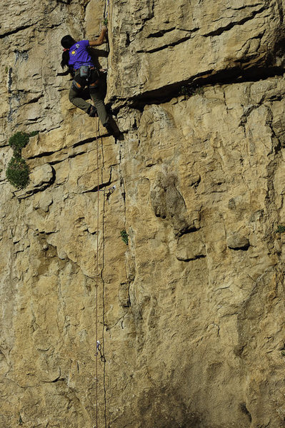 Rock Climbing Photo: Hells Canyon