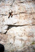 Rock Climbing Photo: the wall 10a