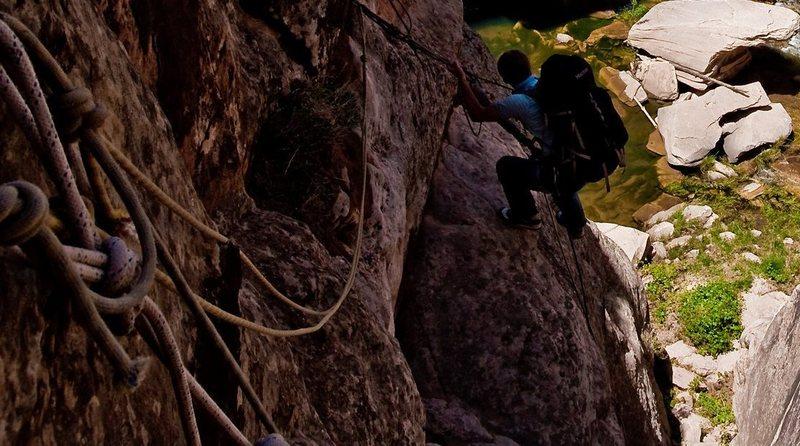 Rock Climbing Photo: Winslow Wall Rap