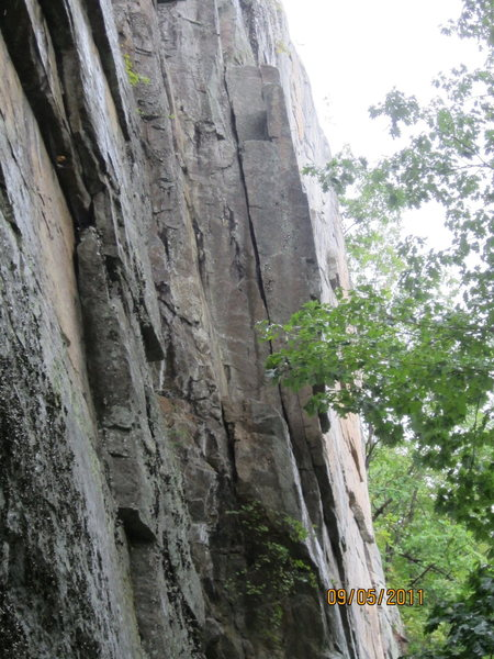 Rock Climbing Photo: the hand crack