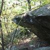 approaching Sanctuary Boulder