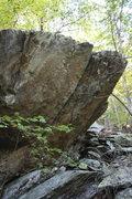Rock Climbing Photo: right end of Sanctuary Boulder