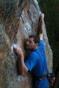 Rock Climbing Photo: jeff on the slabby stuff...