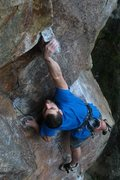 Rock Climbing Photo: reach that pinch jeff! nice!