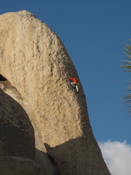 loose lady 5.9 slab.  awesome route!