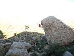 Rock Climbing Photo: white rastafarian V3R