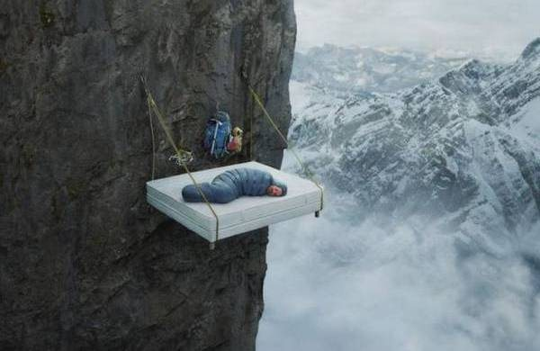 Portaledge, brought to you by Serta
