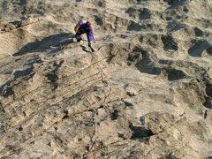 Rock Climbing Photo: Sunrise start