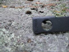 Rock Climbing Photo: The first Chino's knifeblade