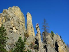 Rock Climbing Photo: Sweet spire!!!  I think these guys knew Aaron Cost...
