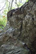 Rock Climbing Photo: top half of problem