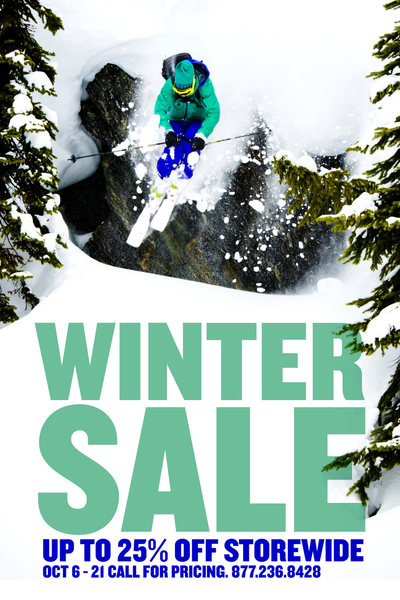 Bentgate Winter Sale.