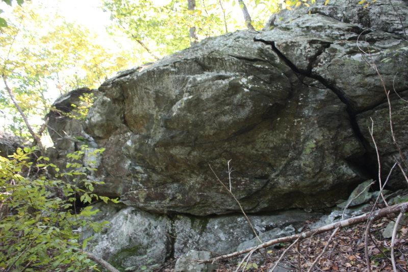 right half of Super Glue Boulder
