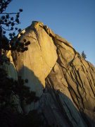 Rock Climbing Photo: Evening light on the Witch