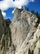 Rock Climbing Photo: East Face Charlatan Needle