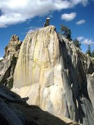 Rock Climbing Photo: Most of Spooky (5.9)