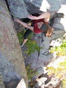 Rock Climbing Photo: And just about done
