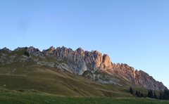 Rock Climbing Photo: At dawn