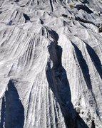 Rock Climbing Photo: Gastlosen limestone texture