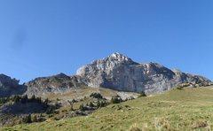 Rock Climbing Photo: Hintisberg
