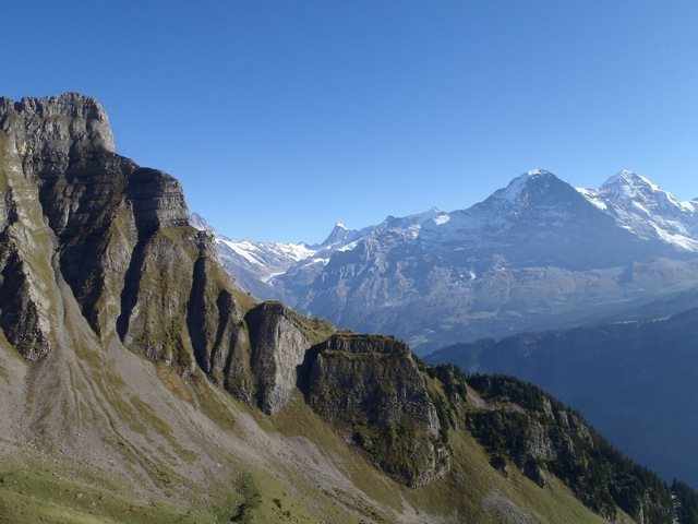 Eiger view from Hintisberg