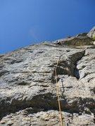 Rock Climbing Photo: On the fun stuff