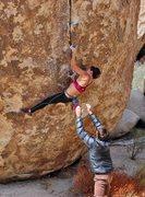 Rock Climbing Photo: pinches on So High