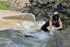 Rock Climbing Photo: on Underdog back last spring