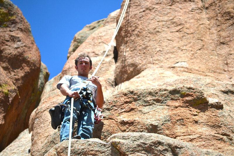 Rock Climbing Photo: Fun in Hartman Rocks