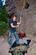 Rock Climbing Photo: Me and my rope...