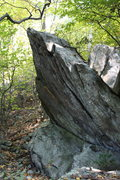 Rock Climbing Photo: side view of Scalloped Boulder