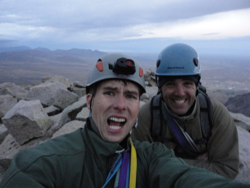 Rock Climbing Photo: Sugarloaf Summit, 6:00 pm, Sat 7 Oct. Wind speed w...