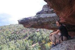 Rock Climbing Photo: Soaking in the verde