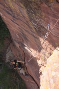 Rock Climbing Photo: Making friends with los amigos
