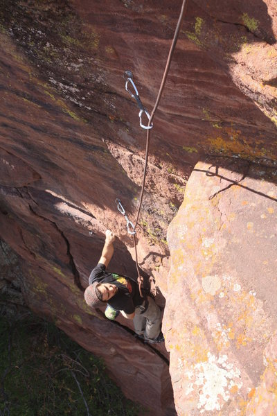 Rock Climbing Photo: Liking los amigos