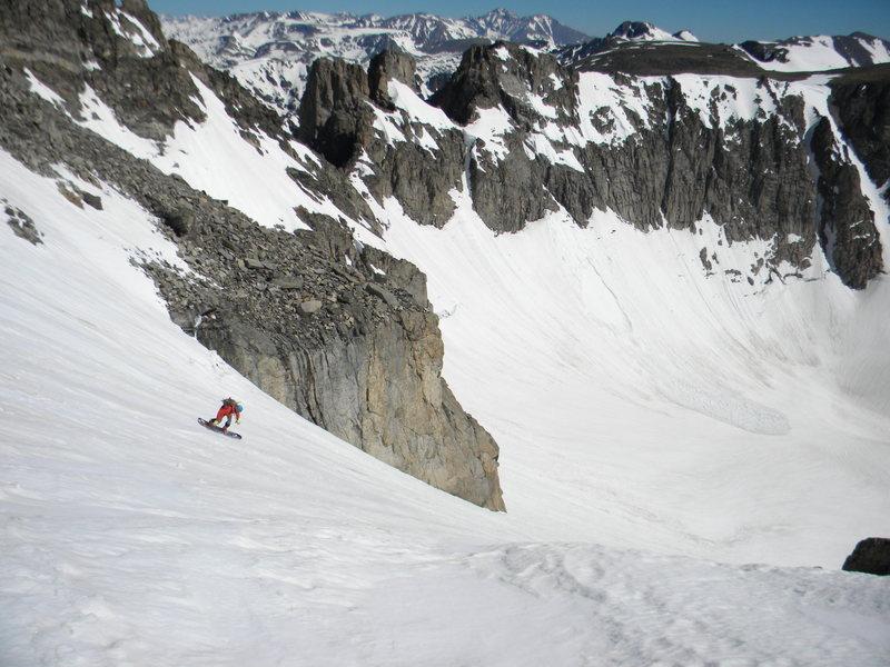 Rock Climbing Photo: Queen's Way descent.