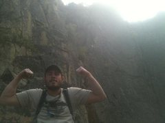 Rock Climbing Photo: Guiding and Flexing the Good Bad and the Ugly