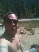 Rock Climbing Photo: Getting some sun at Left Hand Crack